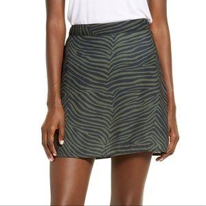 BP. Print Mini Skater Skirt Side Zip Nordstrom
